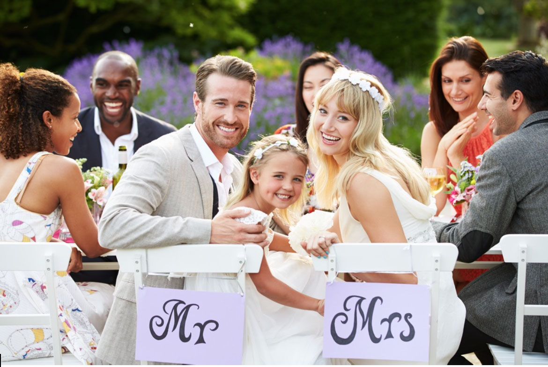 Γαμήλια δεξίωση και παιδιά