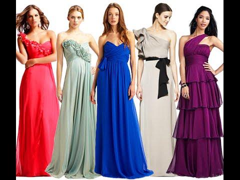 Μάξι φορέματα για γάμο