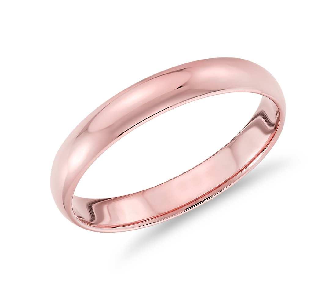 Βέρες σε ροζ χρυσό